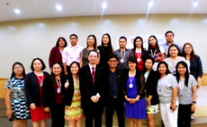 Dr Raymond Cheng with participants of the 4th iCILTER