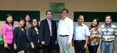 Dr Raymond Cheng meets with the MVGFC President, Dr Joseph V Gallego