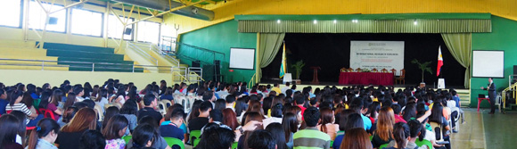 Dr Raymond Cheng at Wesleyan University Philippines, Cabanatuan City