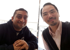 Dr Raymond Cheng meets with Kapil Rampal from Ivory Education, India