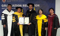 Dr Raymond Cheng named NEUST Visiting Professor 2015