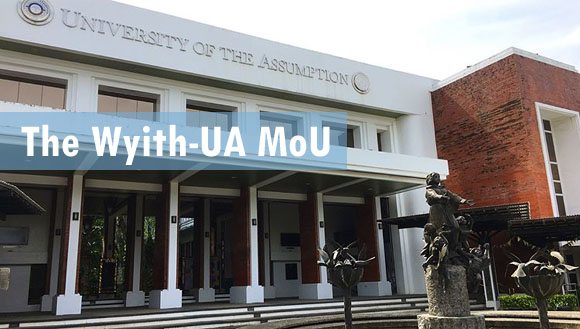 Wyith Institute enters into MoU with University of the Assumption