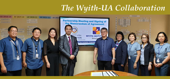 Wyith Institute and University of the Assumption enters into Memorandum of Agreement