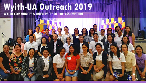 Dr Raymond Cheng supporting UA Outreach Program 2019
