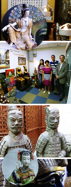 WU-P delegation visited the Office of Dr Raymond Cheng